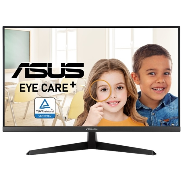 """Asus 27"""" VY279HE FHD 75Hz IPS LED HDMI monitor a PlayIT Store-nál most bruttó 15.999 Ft."""