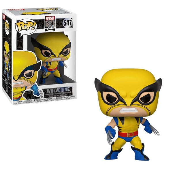 Funko POP! (547) Marvel 80 Years - First Appearance Wolverine figura a PlayIT Store-nál most bruttó 15.999 Ft.