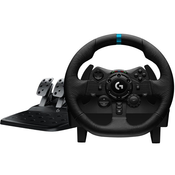 Logitech G923 Racing Wheel and Pedals PS4/PC kormány + pedálsor - 2