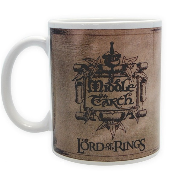 """The Lord of the Rings """"Map"""" 320ml bögre a PlayIT Store-nál most bruttó 15.999 Ft."""