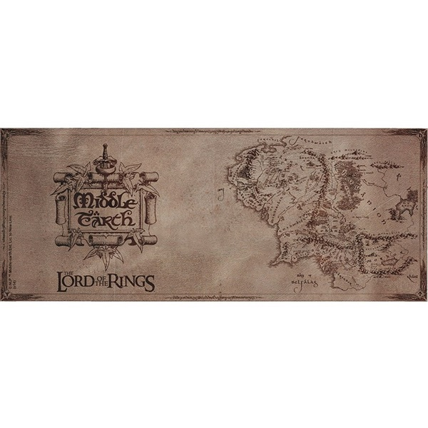 """The Lord of the Rings Map"""" 320ml bögre - 2"""