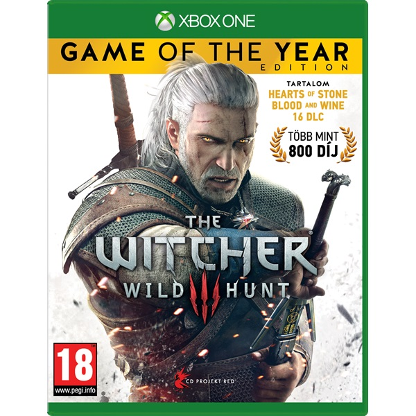 The Witcher 3: The Wild Hunt - Game Of The Year Edition XBOX One játékszoftver a PlayIT Store-nál most bruttó 15.999 Ft.