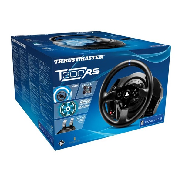 Thrustmaster 4160604 T300RS Pro PS3/PS4/PS5/PC kormány + pedál csomag - 4