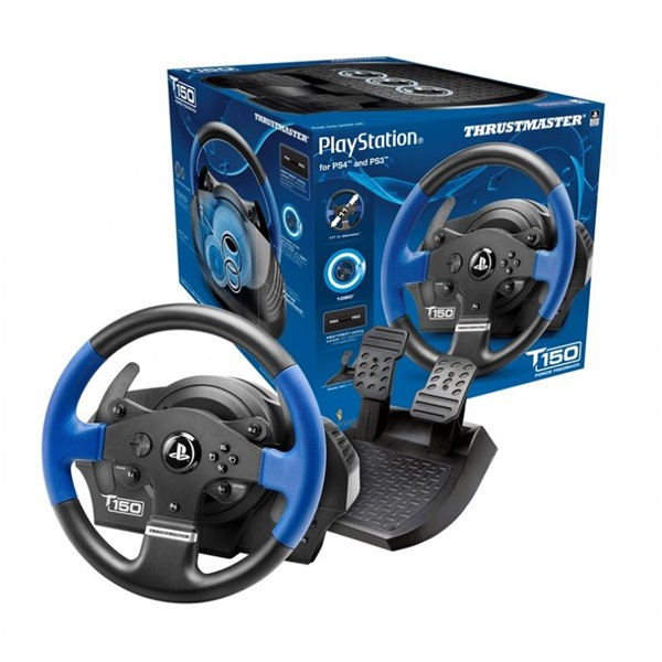 Thrustmaster 4160628 T150RS Force Feedback PC/PS3/PS4/PS5  versenykormány - 5