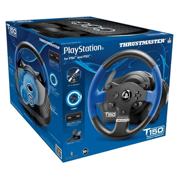 Thrustmaster 4160628 T150RS Force Feedback PC/PS3/PS4/PS5  versenykormány - 6