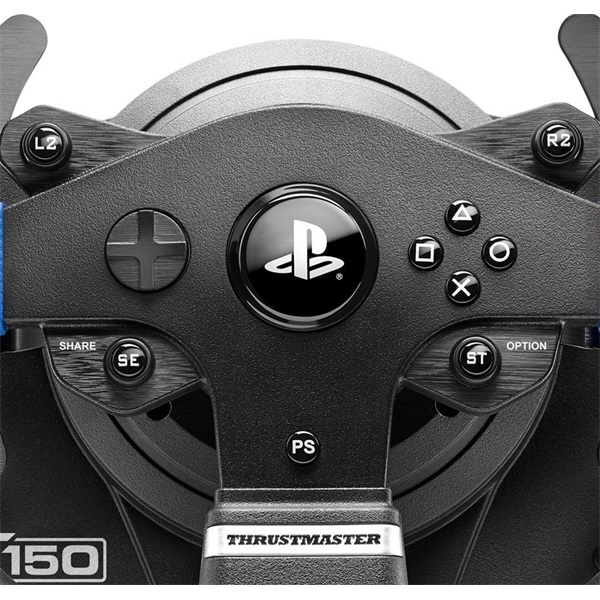 Thrustmaster 4160696 T150RS Pro Force Feedback PC/PS3/PS4/PS5 versenykormány - 4