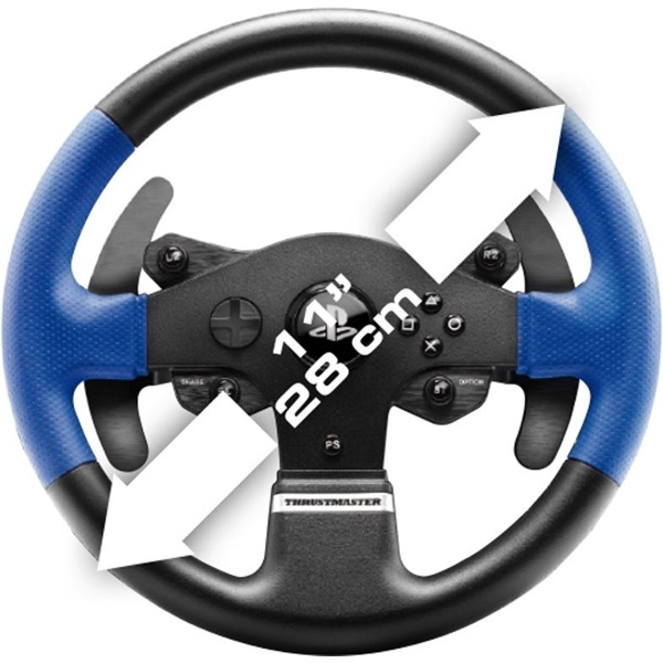 Thrustmaster 4160696 T150RS Pro Force Feedback PC/PS3/PS4/PS5 versenykormány - 6